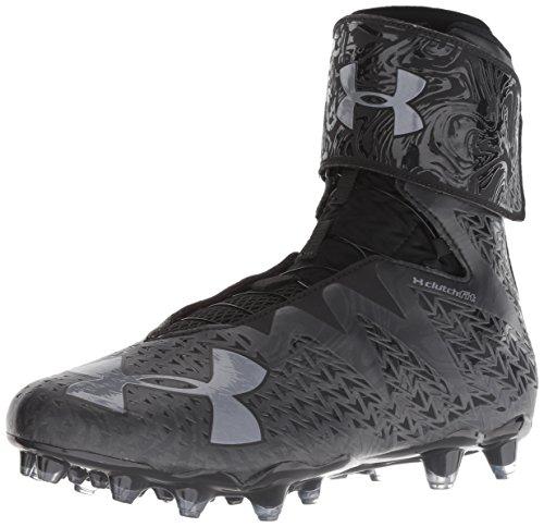 Under Armour Men's Highlight MC 2.0 Football Shoe, Black (001)/Black, 8.5