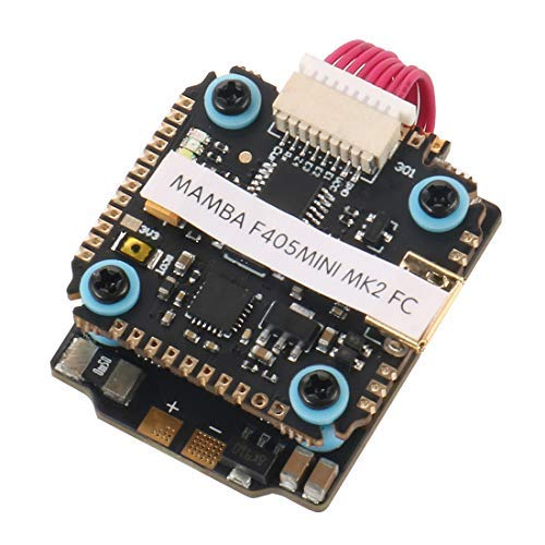 DIATONE Mamba F405 Mini Power Tower F405 Mini Betaflight Flight Controller & F25 25A 2-4S DSHOT600 FPV Racing Brushless ESC for DIY FPV Racing Drone Quadcopter