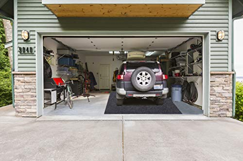 Garage Floor Mats,Parking Mat for Under Cars, Absorbent,Waterproof,Washable Garage and Shop Parking Mats for Snow,Mud,Rain (Garage Floor Mats(252inches x 91inches))