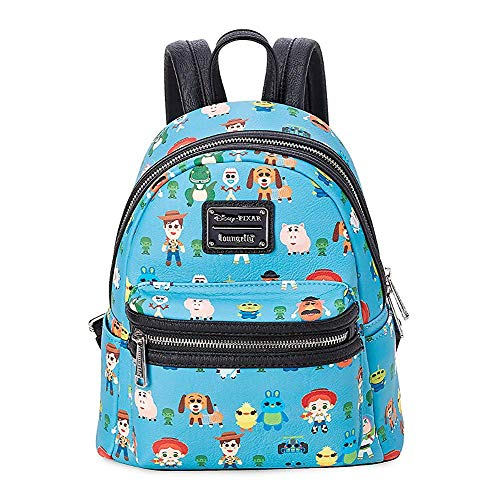 Loungefly: Toy Story Character Faux Leather Mini Backpack Standard
