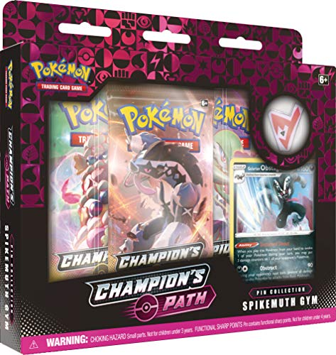 Pokémon TCG: Champion's Path Pin Collection (BALLONLEA, SPIKEMUTH, and HAMMERLOCKE Gyms)