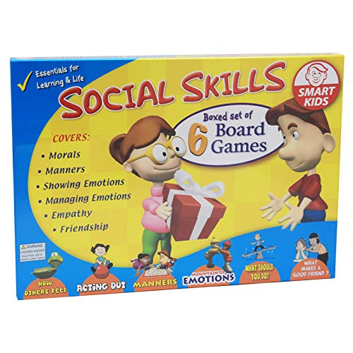 Didax Social Skills Group Activities, 6 Board Games