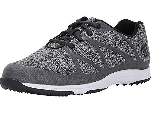 FootJoy womens Leisure - Previous Season Style Golf Shoes, Charcoal, 8.5 US