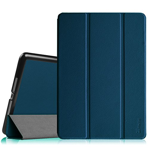 Fintie Case for iPad Air 2 9.7' - [SlimShell] Ultra Lightweight Stand Smart Protective Cover with Auto Sleep/Wake Feature for iPad Air 2, Navy
