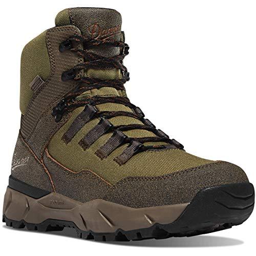 Danner Men's 65301 Vital Trail 5' Waterproof Hiking Boot, Brown/Olive - 12 D