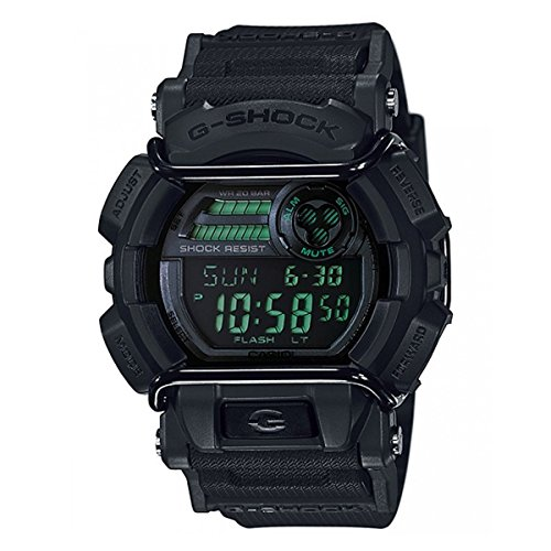 Casio Men's G-Shock GD400MB-1 Black Resin Quartz Watch