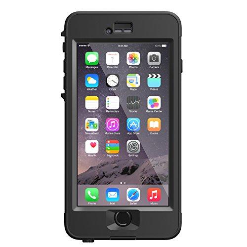 LifeProof NÜÜD iPhone 6 Plus ONLY Waterproof Case (5.5' Version) - Retail Packaging - BLACK