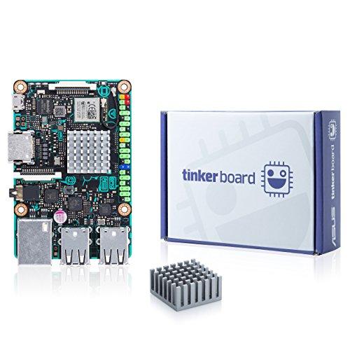 ASUS SBC Tinker board RK3288 SoC 1.8GHz Quad Core CPU, 600MHz Mali-T764 GPU, 2GB