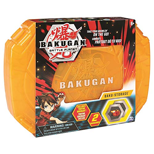 Bakugan, Baku-Storage Case Collectible Action Figures, for Ages 6 and Up, Multicolor