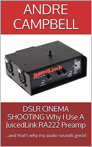 DSLR CINEMA SHOOTING Why I Use A JuicedLink RA222 Preamp: …and that's why my audio sounds great!