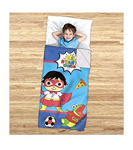 Ryans World Sleeping Bag 2 in 1 Cozy Cover and Sleeping Bag