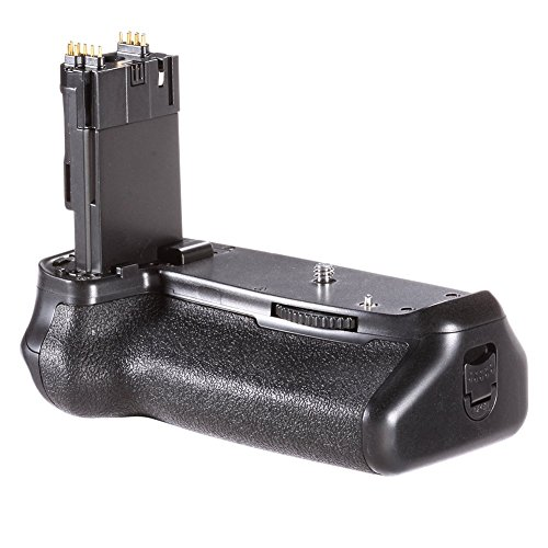 Neewer Battery Grip Holder (Replacement for BG-E14) Work with LP-E6 Battery or 6 Pieces AA Batteries for Canon EOS 70D 80D 90D DSLR Camera