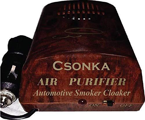 Csonka Automotive Air Purifier Smoker Cloaker - Classy Burled Walnut