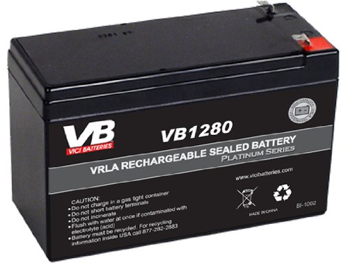 Replacement Battery - Compatible with APC Back-UPS ES 550VA