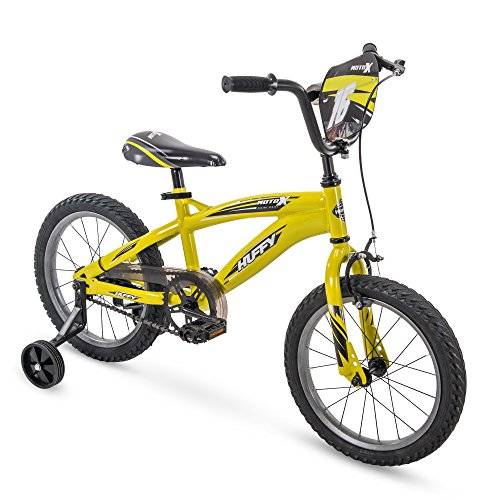 16' Huffy MotoX Boys Bike, Bright Green (71828)
