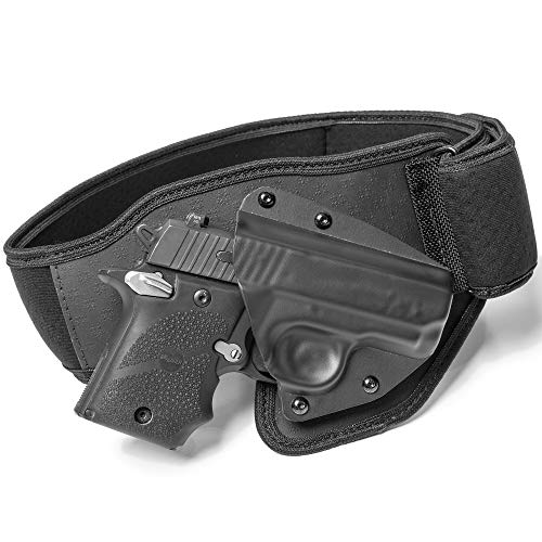Tactica - Belly Band Holster - Compatible with a Glock 43X - Left Hand - Large