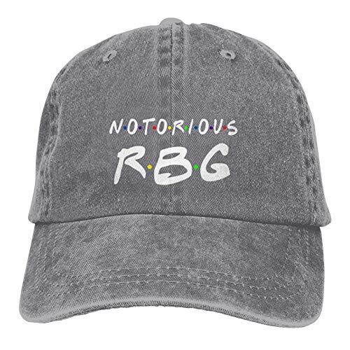 Sweet Studio RBG Ruth Bader Ginsburg Hat Adjustable Baseball Cap Unisex Washable Cotton Trucker Cap Dad Hat Gray