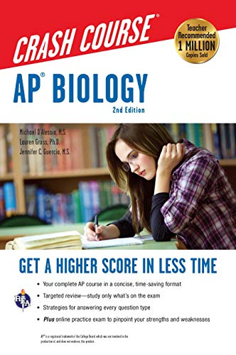 AP Biology Crash Course, 2nd Ed., Book + Online: Get a Higher Score in Less Time (Advanced Placement (AP) Crash Course)