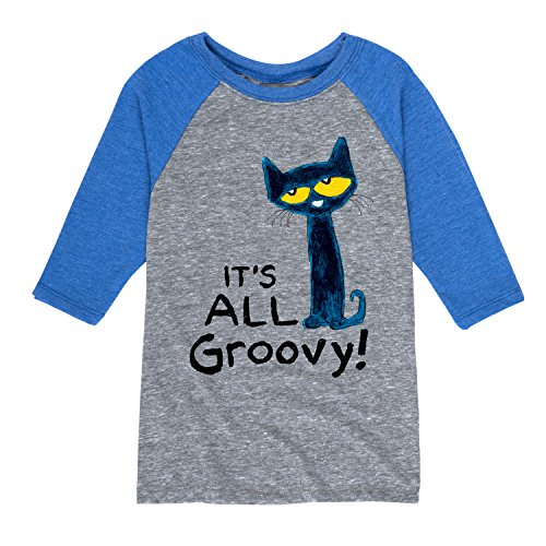 Pete The Cat It's All Groovy - Toddler Raglan
