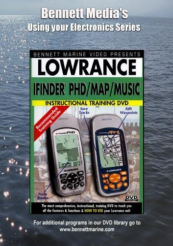 LOWRANCE IFINDER PHD / MAP/MUSIC