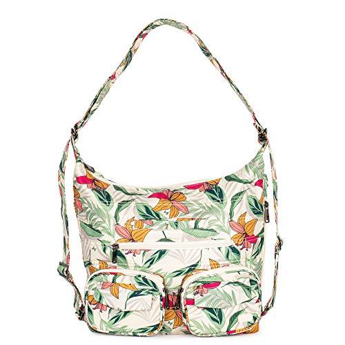 Lug Zip Liner Convertible Bag, Lily Sand