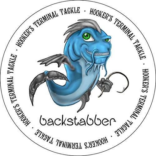 BACKSTABBER Circle Hooks by HOOKER'S Terminal Tackle (8/0 (10 Pack))