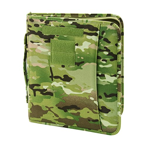 Military Luggage Company Field Ready Multicam OCP Zippered 3 Ring Binder and Padfolio