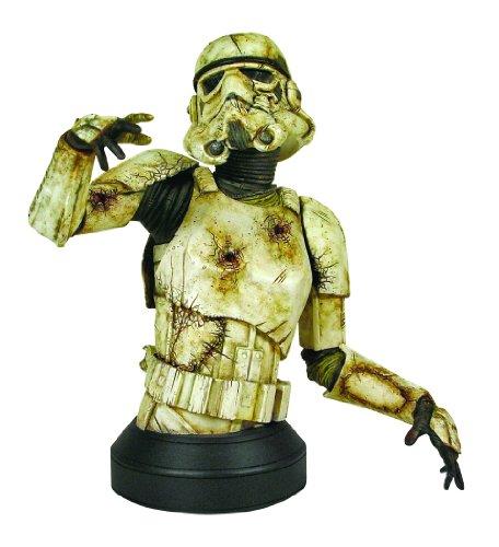 Gentle Giant Studios Star Wars: Death Trooper Mini Bust with Novel