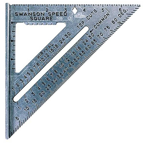 Swanson Tool Co S0101 7 Inch Speed Square Tile