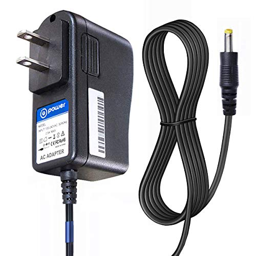 T POWER 9V Ac Dc Adapter Charger Compatible with Audiovox D1812 D1788 D1730 & Coby TF-DVD TF-DVD V.ZON 7' & Durabrand Portable DVD Player Power Supply