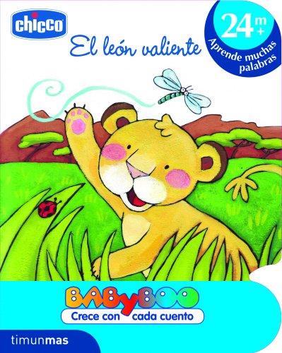El león valiente: +24 meses: Aprende muchas palabras (CHICCO) (Spanish Edition)