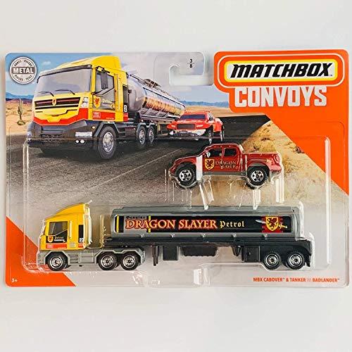 Matchbox Convoys Series MBX Cabover & Tanker with Badlander