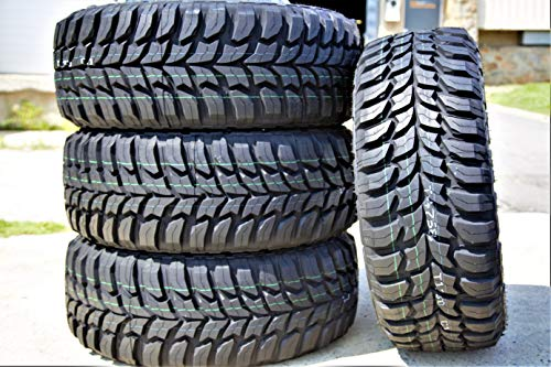 Set of 4 (FOUR) Crosswind M/T Mud Radial Tires-33X12.50R15LT 108Q LRC 6-Ply