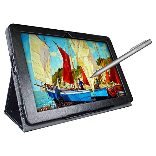 [4 Bonus Items] Simbans PicassoTab 10 Inch Drawing Tablet and Stylus Pen, 2GB, 32GB, Android 9 Pie, Best Gift for Beginner Graphic Artist Boy, Girl, HDMI, USB, GPS, Bluetooth, WiFi - PC92