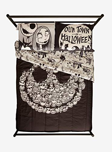 The Nightmare Before Christmas Our Town Pillowcase Set