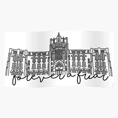 College Friars Pc Jamiemaher15 Providence I Fsgcastane-Trendy Poster for Wall Art Home Decor Room