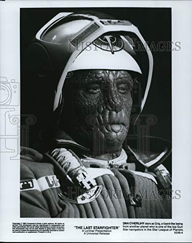 Historic Images - 1984 Press Photo Dan O'Herlihy in The Last Starfighter.