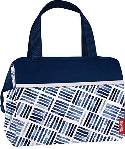 Thermos Raya 9 Can Duffle drink cooler bag, BLUE TILES