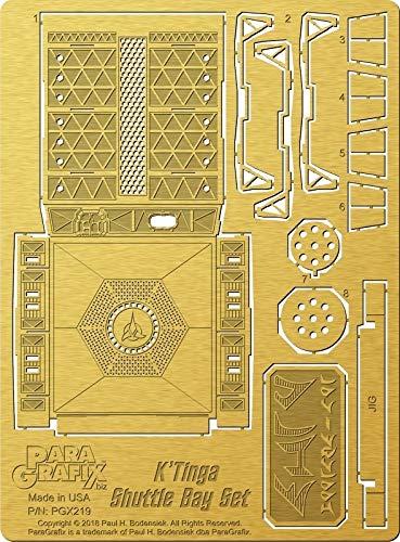 Star Trek - Klingon K'Tinga Shuttle Bay 1/350 Scale Photoetch Set (PGX219)