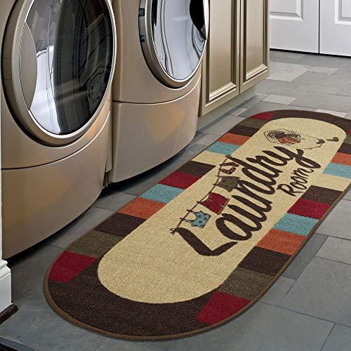 Ottomanson LA4019O-2X5 Washtown Runner Rug, 20' x 59', Multicolor