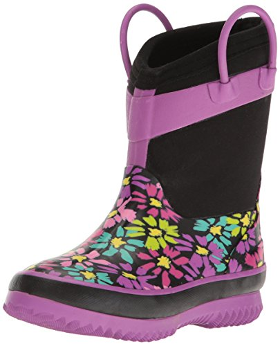 Western Chief Kids Cold Rated Neoprene Boot, Daisy Shower, 11/12 M US Little Kid