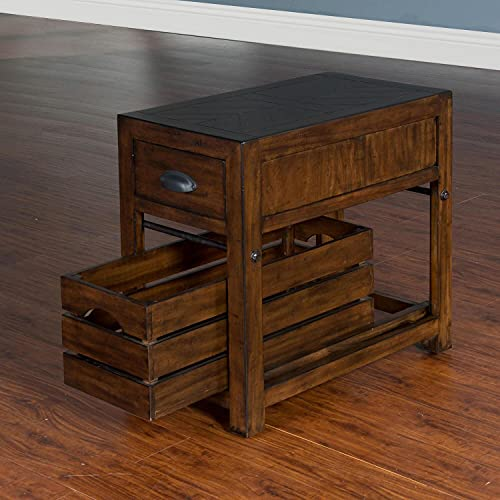 Sunny Designs Canyon Creek Chair Side Table