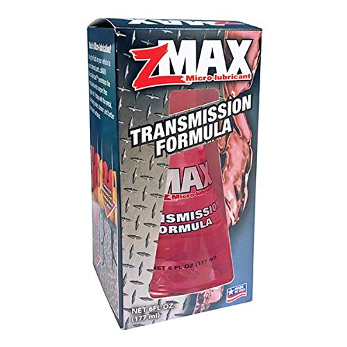zMAX 51-306 - Transmission Formula - for Automatic and Manual Transmissions - Reduces Carbon Build-Up - Lubricates Metal and Gears - Keeps Seals Supple - Improves Shifting Performance - 6 oz.