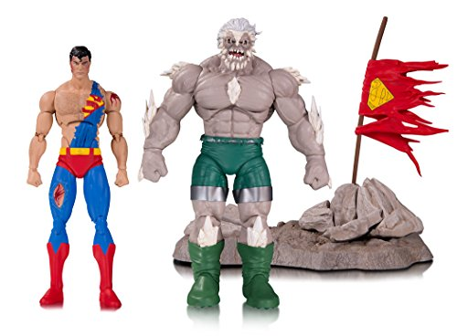 DC Collectibles DC Icons: The Death of Superman - Doomsday & Superman Deluxe Action Figures (2 Pack)