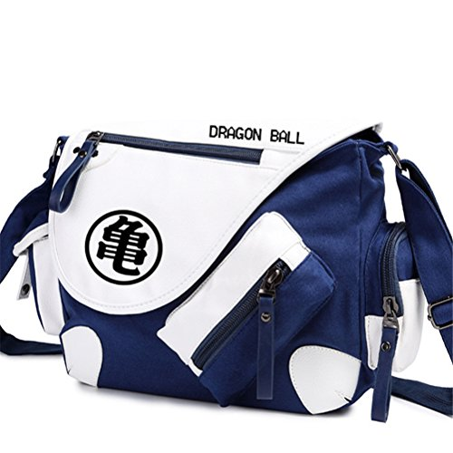 YOYOSHome Anime Dragon Ball Z Cosplay Backpack Satchel Messenger Bag Shoulder Bag