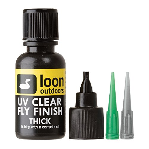 Loon Outdoors UV Clear Fly Finish, Thick.5 OZ.