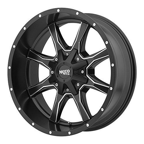 Moto Metal MO970 Semi Gloss Black Wheel Semi Gloss Black with Milled Spokes (16x8'/8x165.1mm, 00mm offset)