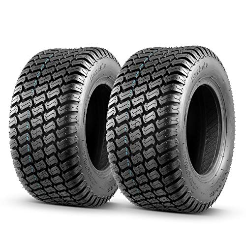 Set of 2 16x6.5-8 16x6.5x8 Tires Lawn Mower Tractor, 4PR, Tubeless