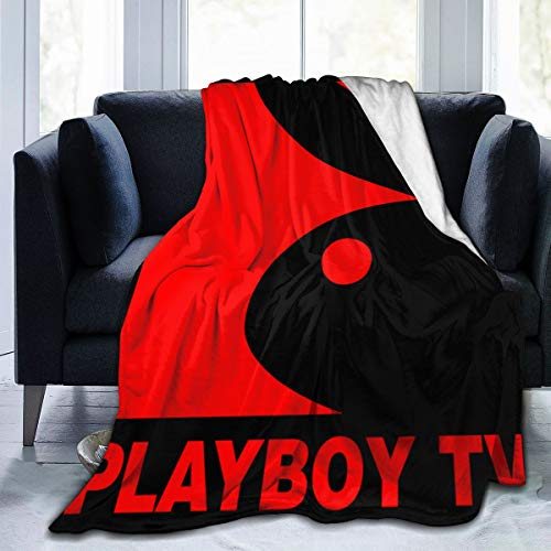 GVV Ultra-Soft Micro Fleece Blanket Playboy Throw Blanket Warm Blanket Throw Blanket Ultra Soft Thick Bed Blanket for Couch Fleece - All Season Premium Bed Blanket