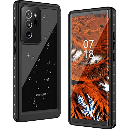 Samsung Galaxy Note 20 Ultra Case, ANTSHARE Note 20 Ultra Waterproof Case IP68 Shockproof Dustproof Case with Built-in Screen Protector 360 Full Body Cover Case for Note 20 Ultra(6.9inch)